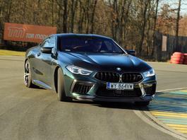 BMW M8 Competition - adrenalina rozsadza nerwy