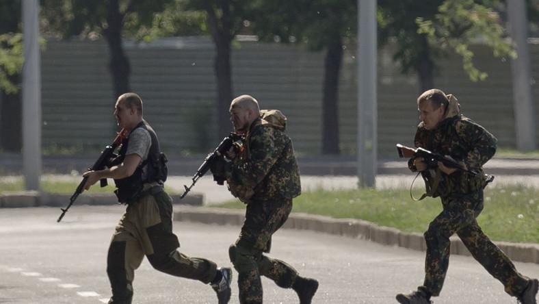 Separatyści w Doniecku