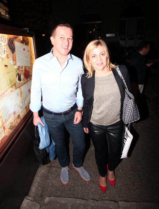 Srđan Predojević sa suprugom