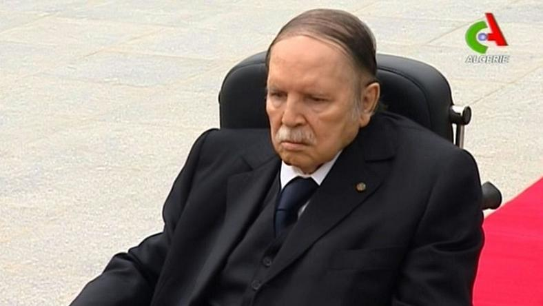 Algerian President Abdelaziz Bouteflika, seen on a video grab in July 2016, signed a 2017 budget that sees taxes rise to compensate for falling revenues from its key oil sector, the country's main source of revenue