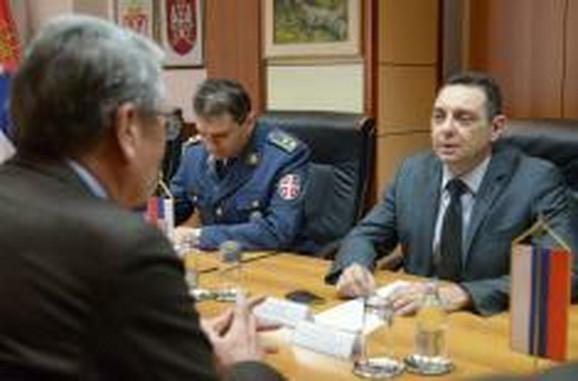 Aleksandar Vulin i Aleksandar Čepurin