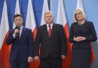 Zmiany w Kancelarii Premiera: Kopcińska nowym rzecznikiem, Suski - szefem gabinetu politycznego, Dworczyk - szefem KPRM