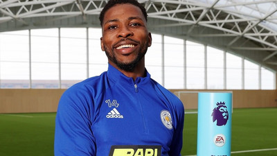 """'Let's clap for senior man,"""" Nigerians applaud Kelechi Iheanacho after he was named Premier League's Player of the Month"""