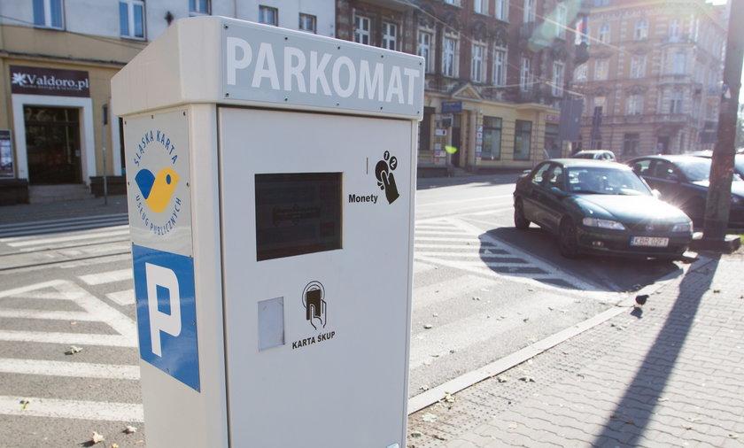 Nowy parkomat na placu Miarki