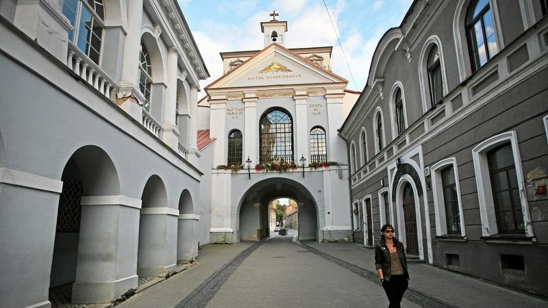 Wilno, Ostra Brama, fot. Mateusz Skwarczek / Agencja Gazeta