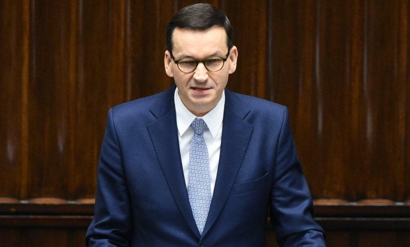 Rok rządu premiera Mateusza Morawiekiego