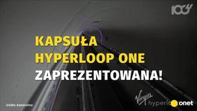 Kapsuła Hyperloop One zaprezentowana