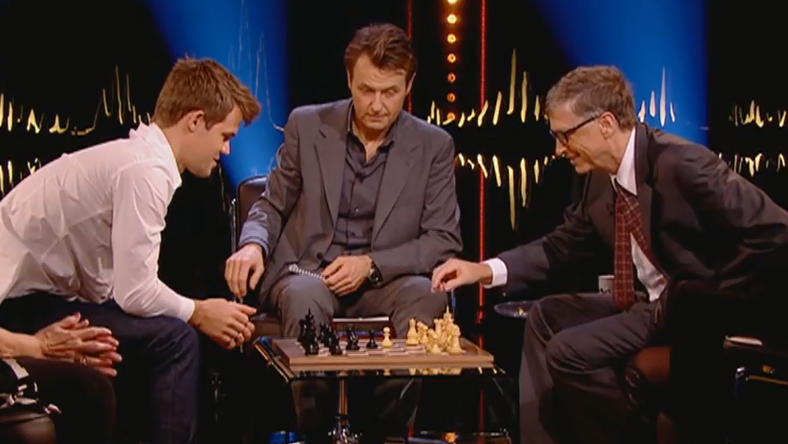 Magnus Carlsen VS Bill Gates