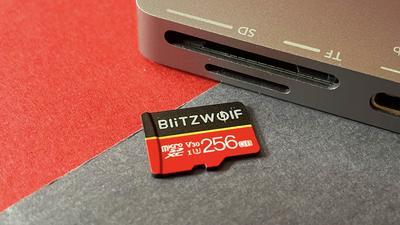 Blitzwolf BW-TF1 im Test: Was taugt die billige Micro-SDXC-Karte aus China?
