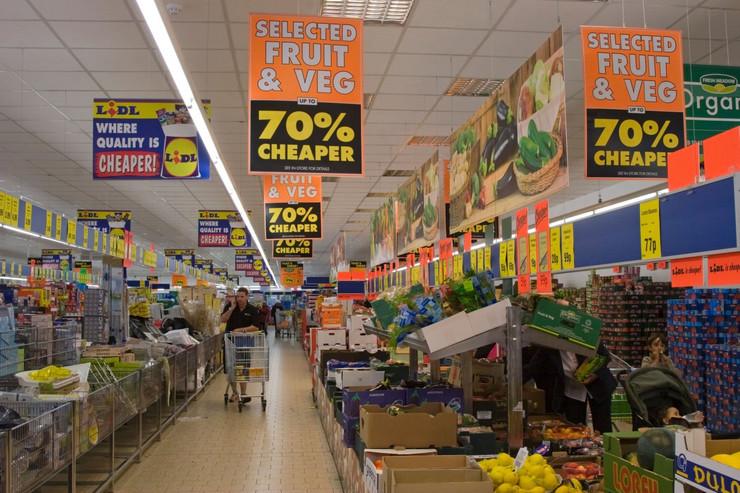 Supermarketi, diskont kupovina