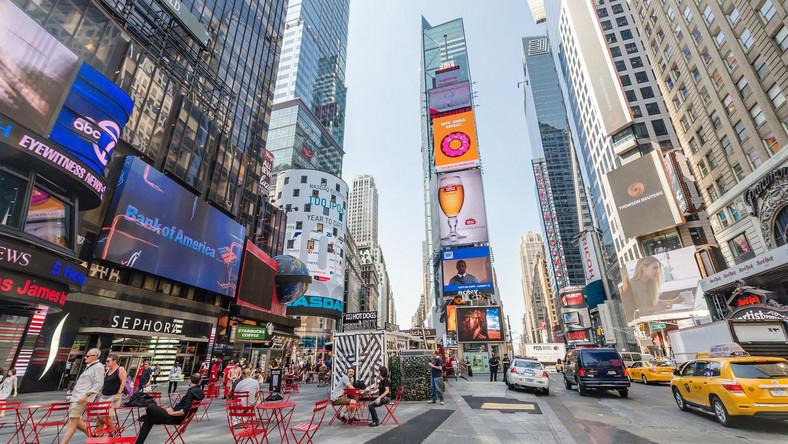 A może kawa na Times Square?