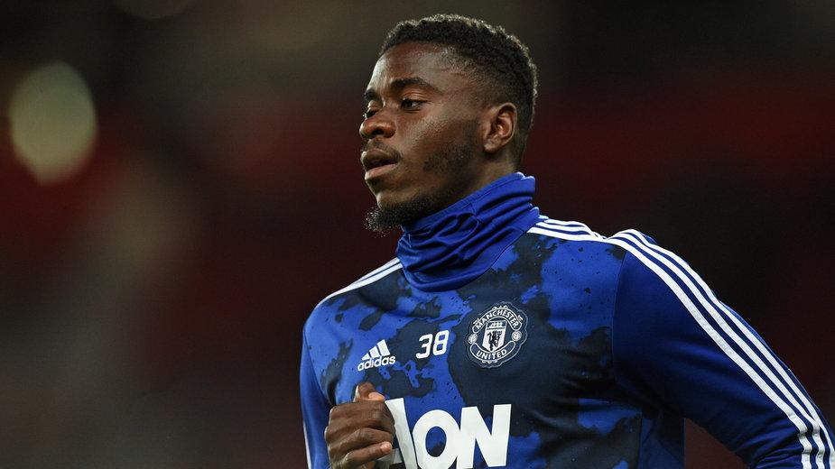 Obrońca Manchesteru United Axel Tuanzebe