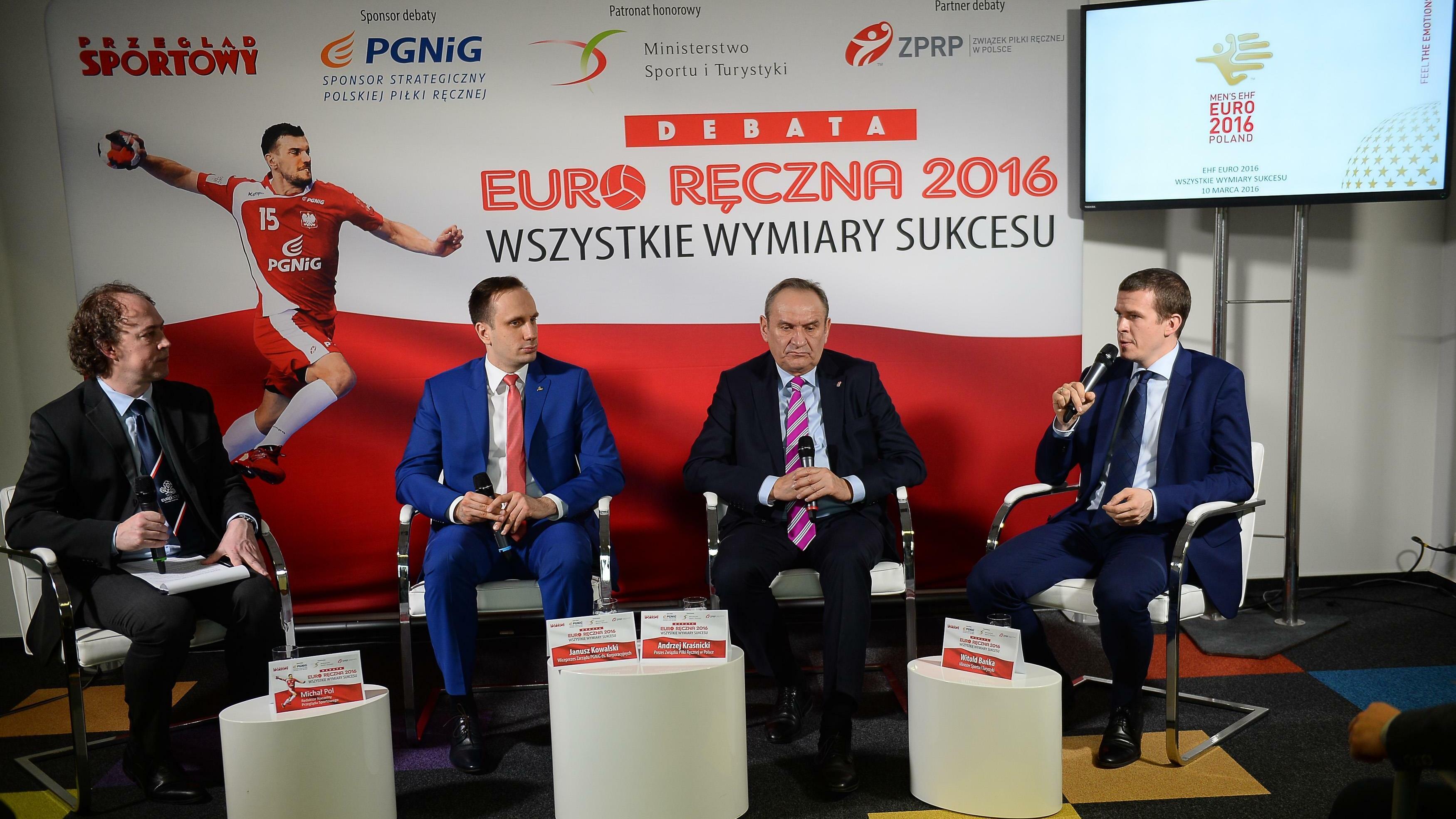 1c7048454 Piłka ręczna. Debata o EHF Euro 2016 - Piłka ręczna