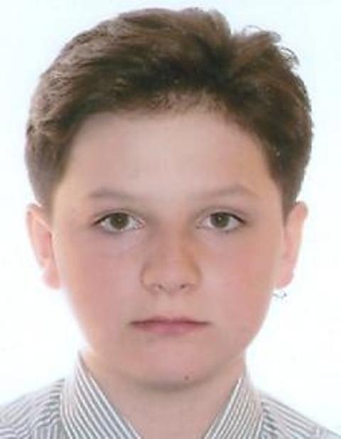 Zaginiony Jonathan Nieradko