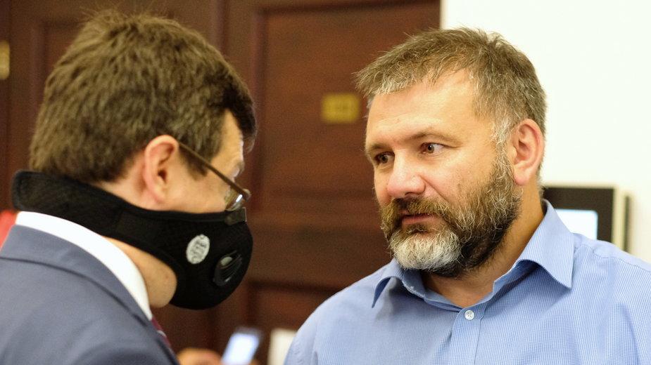 Sędzia Krystian Markiewicz i sędzia Waldemar Żurek