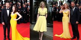Ten kolor dominował w Cannes. Która gwiazda wyglądała w nim lepiej?