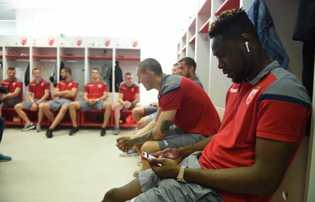 Fudbaleri Zvezde na prvom danu priprema za nove izazove