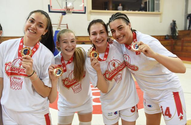 Košarkašice ŽKK Crvena zvezda