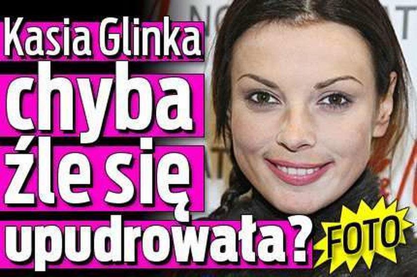 Kasia Glinka chyba źle się upudrowała? FOTO