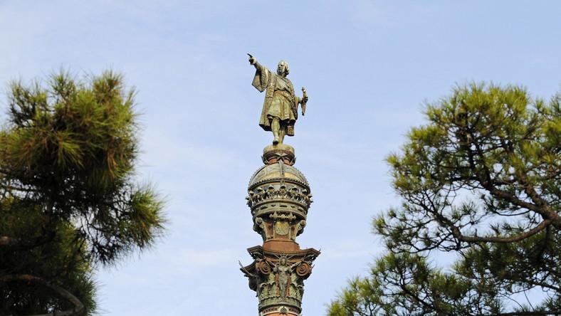 Pomnik Kolumba w Barcelonie