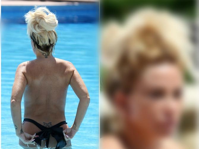 Slavna plavuša uhvaćena na odmoru: Kad se okrenula i pokazala lice, FANOVI SU OSTALI U ŠOKU