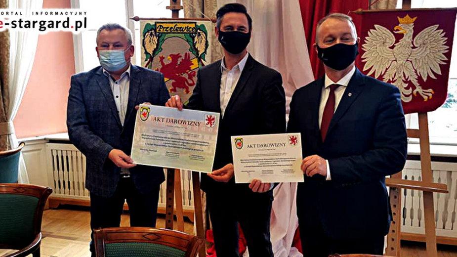 Marszałek Olgierd Geblewicz zapowiada fundusze na inwestycje