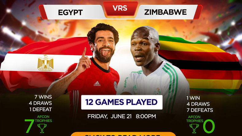 Hosts Egypt face Zimbabwe in AFCON opener