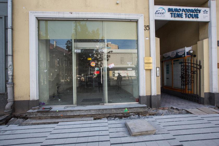 Wyremontują witryny sklepowe na św. Marcinie