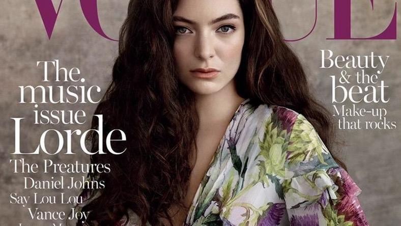Lorde covers Vogue Australia July 2015 issue