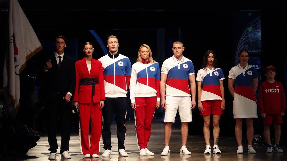 Olimpijskie stroje rosyjskich sportowców