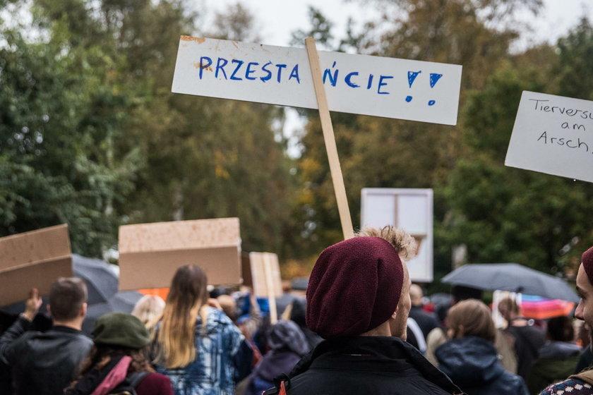 Demonstracja w Hamburgu