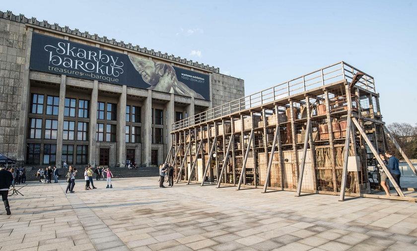 Tężnia sztuki pod Muzeum Narodowym w Krakowie