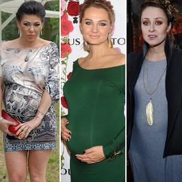 Gwiazdy z ciążowymi krągłościami na salonach
