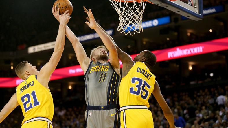 Golden State Warriors pokonali Indiana Pacers, a Denver Nuggets wygrali z Washington Wizards