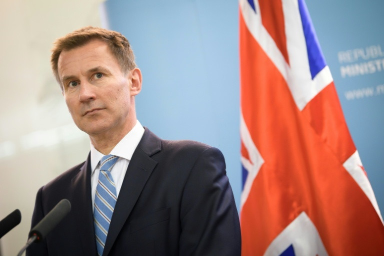 British Prime Minister of Foreign Affairs, Jeremy Hunt.