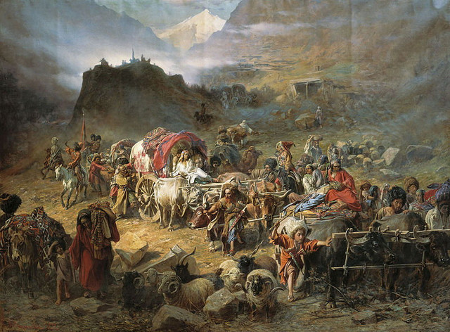 Beg domorodaca s Kavkaza