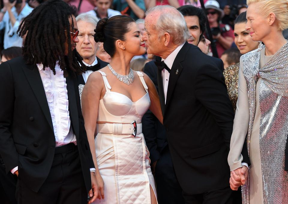 Selena Gomez i Bill Murray na festiwalu w Cannes