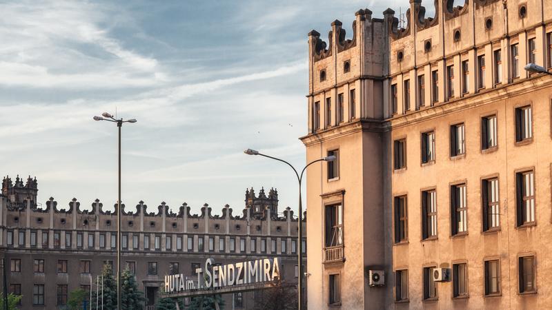 Centrum Administracyjne dawnej Huty im. Lenina