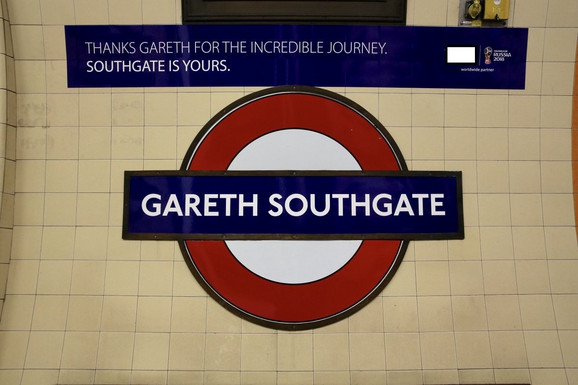 Objava javnog transprota u Londonu o pomenutoj stanici metroa