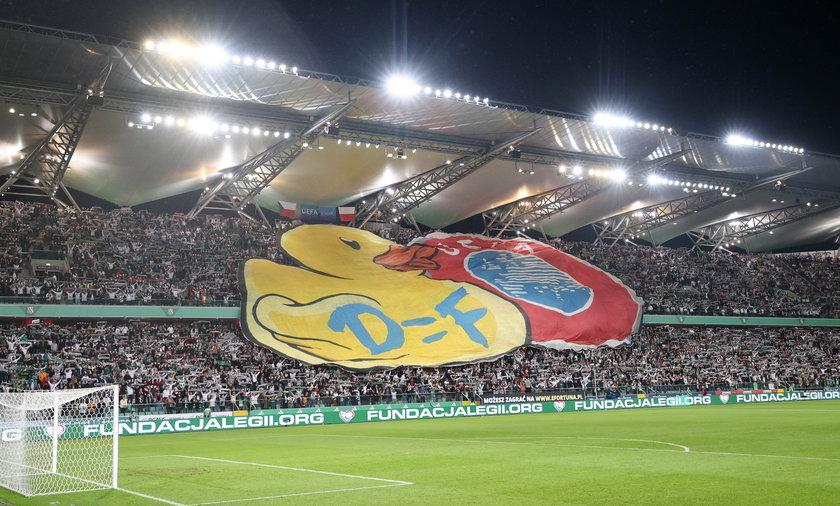 Miało być tylko kreatywnie i śmiesznie, ale Legia za ten rebus najpewniej otrzyma kolejną karę od UEFA