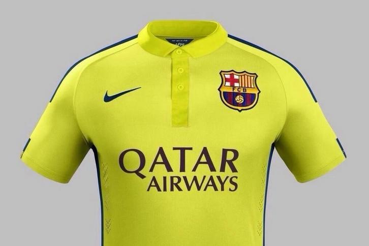 c53a5e141 Odblaskowe stroje Barcelony! Przeciwnicy Dumy Katalonii znów będą mieli  pożywkę. Barca zaprezentowała nowy komplet