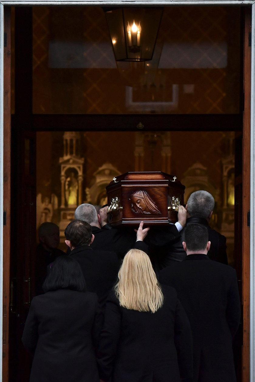 Uroczystości żałobne Dolores ORiordan