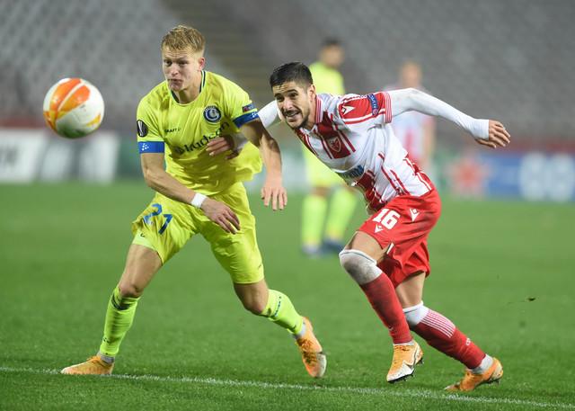 Detalj sa meča FK Crvena zvezda - Gent