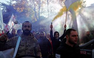 Protesty w Gruzji. Wciąż niespokojnie na ulicach Tbilisi