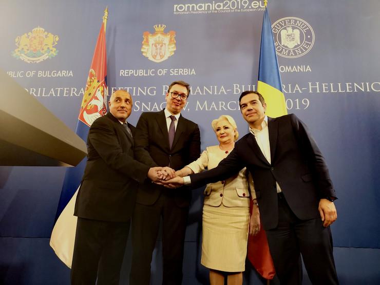 Aleksandar Vučić Bukurešt, Tanjug, Služba za saradnju sa medijima predsednika Srbije