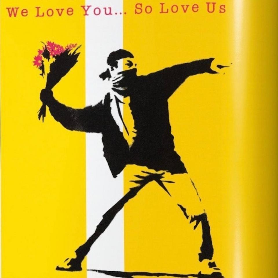 "Banksy dla projektu ""We Love You… So Love Us Vol.1"" (składanka)"