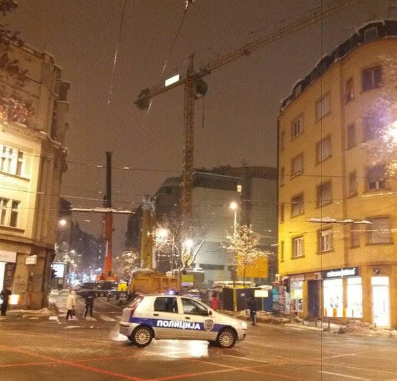 Kranovi na beogradskim gradilištima