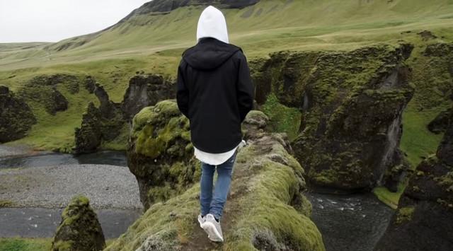Džastin Biber u kanjonu na Islandu