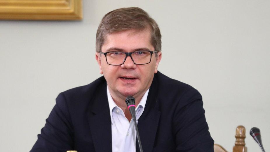 Sejmowa komisja śledcza ds. Amber Gold. Przesłuchanie Sylwestra Latkowskiego w 2017 r.
