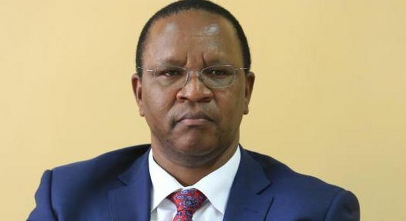Interior Principal Secretary Dr Karanja Kibicho
